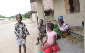 에볼라 바이러스가 지나간  마을에서